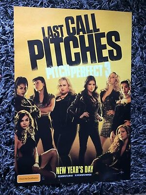 PITCH PERFECT 3 One Sheet Movie Poster