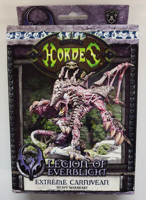 NEW Hordes Legion of Everblight Extreme Carnivean Heavy Warbeast PIP 73095