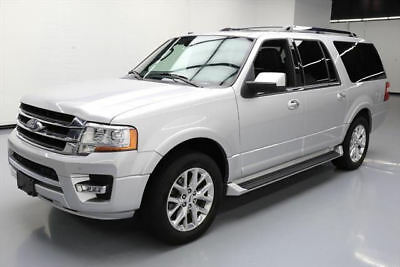 2017 Ford Expedition EL Limited Sport Utility 4-Door 2017 FORD EXPEDITION EL LTD ECOBOOST SUNROOF NAV 37K MI #A21398 Texas Direct