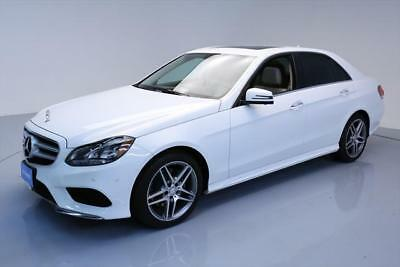 2015 Mercedes-Benz E-Class Base Sedan 4-Door 2015 MERCEDES-BENZ E350 SPORT SUNROOF NAV REAR CAM 21K #144238 Texas Direct Auto