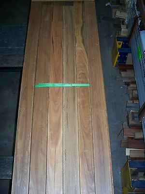Australian Spotted Gum Hardwood Decking 86mm x 19mm Feature Grade Random Length