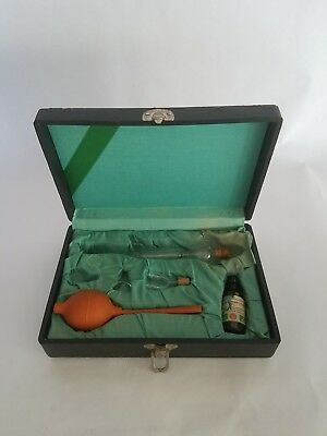 Antique Violet Ray Ozone Oxygen Wand Electrode Set Quack Medical