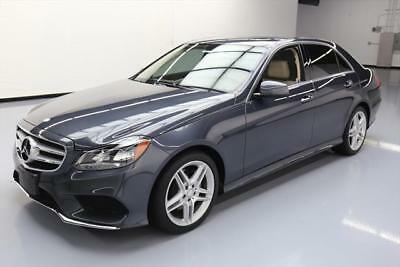 2014 Mercedes-Benz E-Class Base Sedan 4-Door 2014 MERCEDES-BENZ E350 SPORT SEDAN P1 SUNROOF NAV 51K #788996 Texas Direct Auto