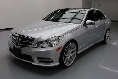2013 Mercedes-Benz E-Class Base Sedan 4-Door 2013 MERCEDES-BENZ E350 P1 SPORT SEDAN PANO NAV 36K MI #690589 Texas Direct Auto