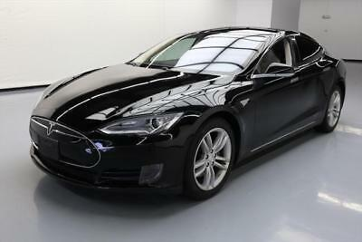 2013 Tesla Model S  2013 TESLA MODEL S 85 7-PASS LEATHER NAV REAR CAM 46K #P20384 Texas Direct Auto