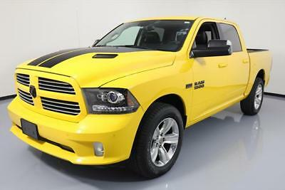2016 Dodge Ram 1500 Sport Crew Cab Pickup 4-Door 2016 DODGE RAM 1500 SPORT CREW 4X4 HEMI SUNROOF NAV 13K #318188 Texas Direct