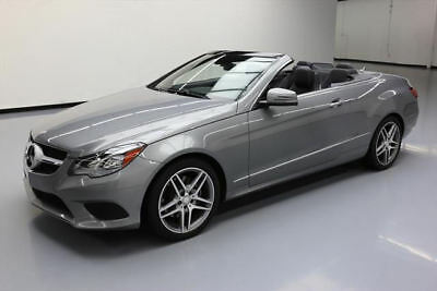 2014 Mercedes-Benz E-Class Base Convertible 2-Door 2014 MERCEDES-BENZ E350 CONV P1 HTD SEATS NAV 32K MILES #273998 Texas Direct
