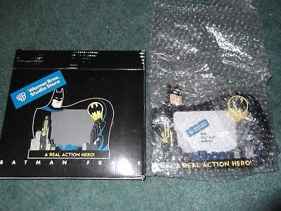 Warner Brothers Store Batman Animated A Real Action Hero Frame in Box