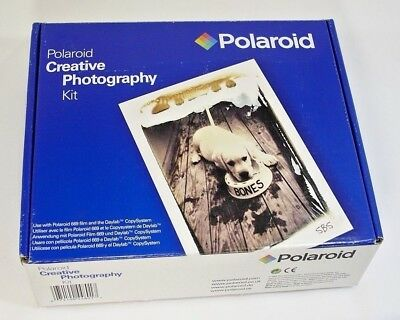 POLAROID Creative Photography Kit Fun Instant for 669 Film Daylab CopySystem