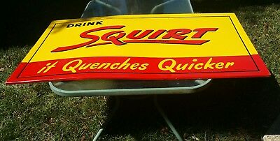 Squirt Soda Sign 1947 Super Nice!