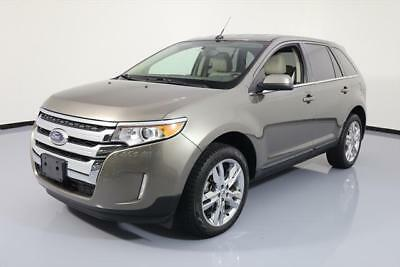 2014 Ford Edge Limited Sport Utility 4-Door 2014 FORD EDGE LIMITED HTD LEATHER NAV REAR CAM 25K MI #B59627 Texas Direct Auto