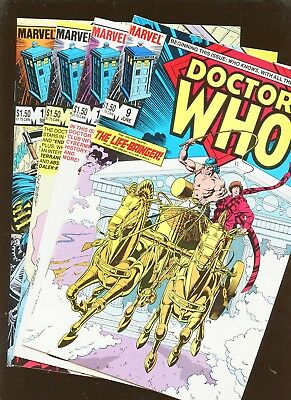Doctor Who 9, 10, 11, 12 * 4 Book Lot * Dave Gibbons!!!
