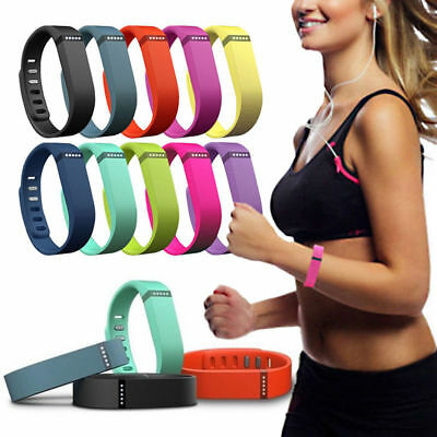 Large/ Small Replacement Wrist Band w/Clasp F/ Fitbit Flex Bracelet NEW