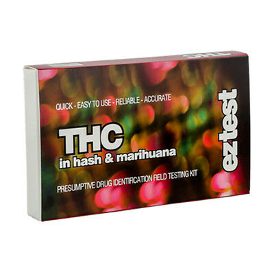 SUPER SALE !! Genuine EZ Test Testing Kit for THC in Hash and Marihuana / Weed.