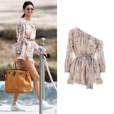 Bnwt Zimmermann Folly Whimsy Playsuit Sold Out 0 1 2 $595 Rrp