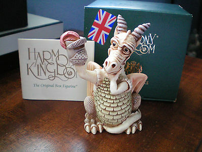 Harmony Kingdom Tour de Force V1 Dragon Peter Puppet UK Made 2xSgn MP & NW