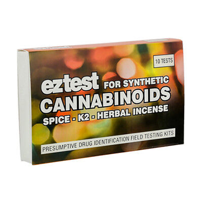 SUPER SALE !! Genuine EZ Test Testing Kit for Synthetic Cannabinoids: Spice ..