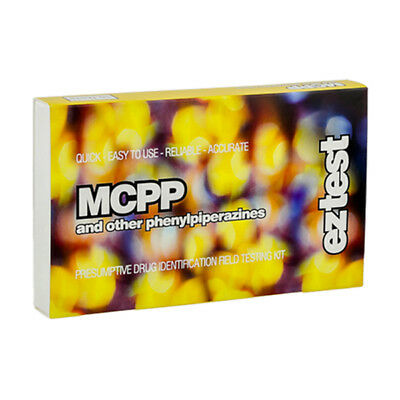 SUPER SALE !! Genuine EZ Test Testing Kit for piperazines: mCPP and TfMPP.