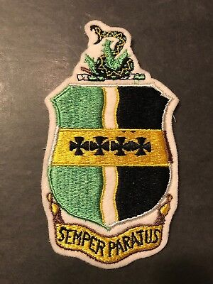 "WW2 WWii US AIR FORCE, 9th Bomber Group 20th USAF PATCH-ORIGINAL""SEMPER PARATUS"""