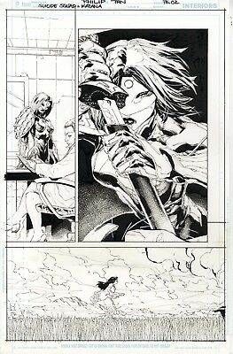 Suicide Squad: Katana page 2 by Philip Tan