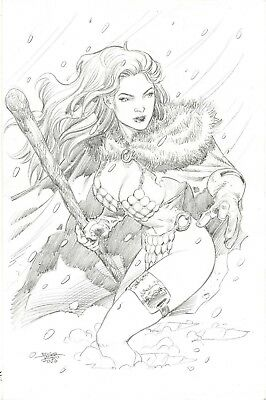 Red Sonja by Edgar Tadeo