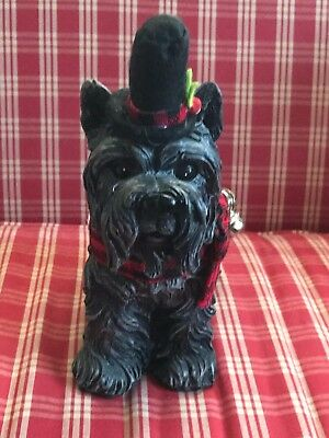 Cairn Terrier Christmas/Xmas figurine- New-Reduced!
