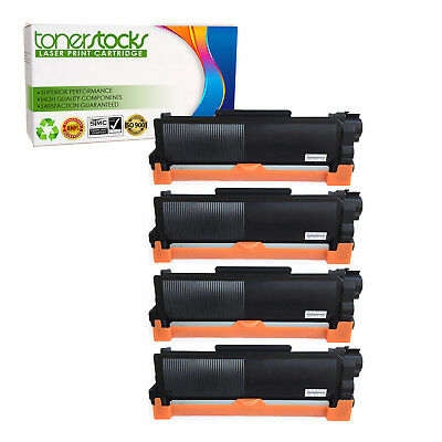 4 High Yield Black Toner Cartridge TN660 HL-L2300D For Brother DCP-L2540DW