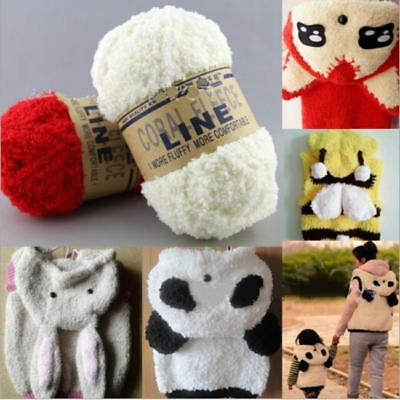 Baby Warm Chenille Knitting Wool Craft For Towel Coat Sweater DIY Tool JA
