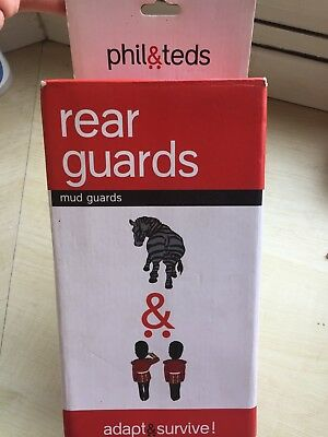 Phil & Teds E3 Rear Wheel Mud Guards Brand New In Box