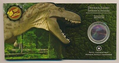Canada: 2010 50c Dinosaur 3-D Lenticular Movement, Cat $40, Type II