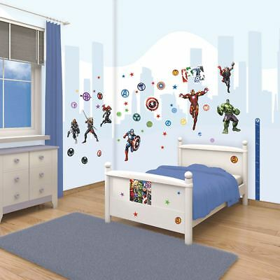 Walltastic Marvel Avengers Room Decor Kit 66 Stickers