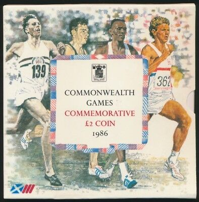 Great Britain 1986 Royal Mint £2 Coin UNC Commonwealth Games