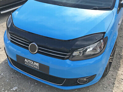 Bonnet Trim Protector Bug Guard Wind Deflector To Fit Volkswagen Caddy (10-15)