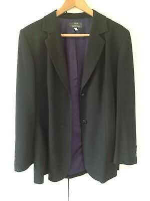 Ladies Marks and Spencer two piece suit size 16 jacket 14 trousers