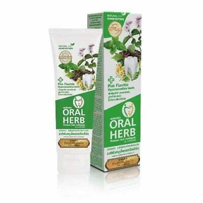 Oral Herb Premium Natural Herbal Fluoride toothpaste reduce bad breath Gum Care