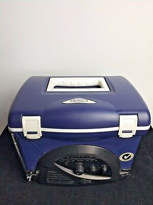 Small Esky Cooler With inbuilt Radio Holds 6 Cans. Good Working Order IDP81