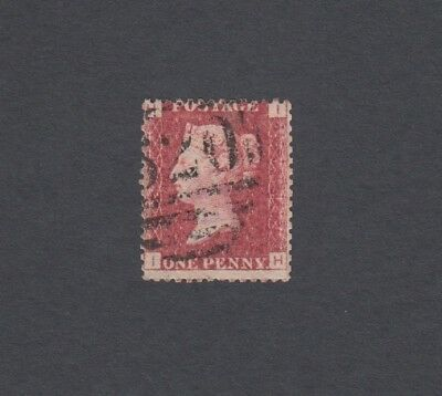 SUPERB SG43 Penny Red Plate 132 FINE USED