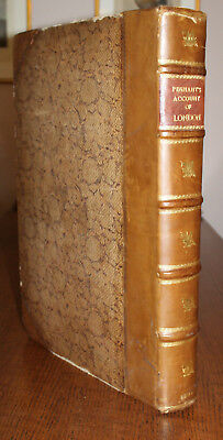 1805 Some Account of London PENNANT Large Paper Edition Illustrated 110 Plates