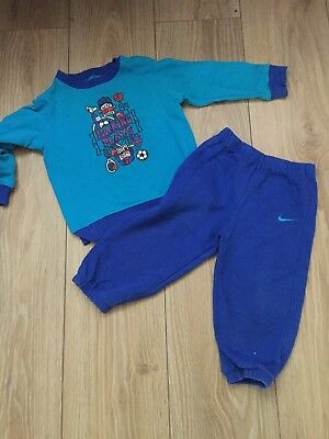 Boys Nike Tracksuit In Great Condition Age 18-24 Months 1 1/2 To 2