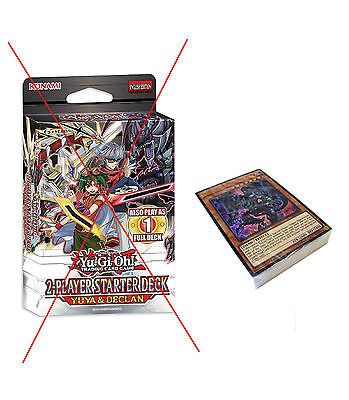 Yugioh Cards Yuya & Declan Starter Deck 2015 - No Box - Unused - Cards Mat+Guide