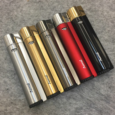 Lot 5 AOMAI 236 Windproof Jet Torch Butane Gas Flame Cigar Cigarette Lighter