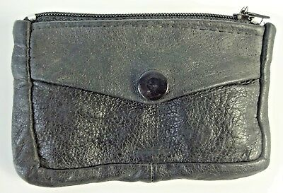 Vintage - leather key ring chain case holder wallet organizer Coin Pouch Purse