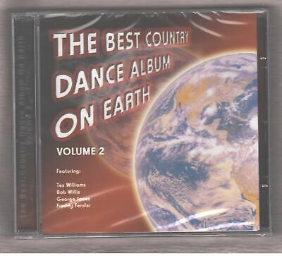The Best Country Dance Album On Earth Volume 2 CD Brand New George Jones 2005