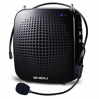 SHIDU S511 Ultralight Portable Voice Amplifier With Comfortable Wired Microphone