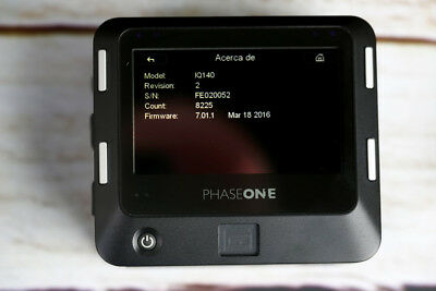 PHASE ONE IQ140 - Back - 8225 auctions FIT HASSELBLAD -EXCELLENT
