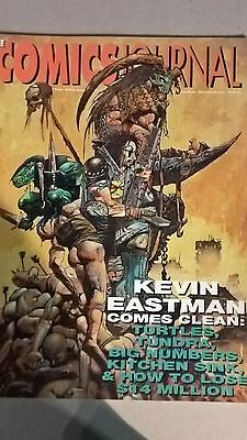 Comics Journal 202 - Kevin Eastman interview. Simon Bisley cover