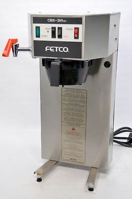 Fetco CBS-31Aap Single Airpot Automatic Coffee Brewer 240V Water Tap Plumb-In Ma