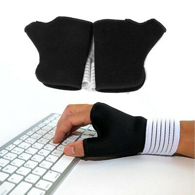 1Pair Wrist Hand Brace Elastic Palm Support Carpal Tunnel Tendonitis Pain Relief