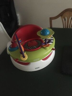 Mamas And Papas Floor Seat WiTh Activity Tray