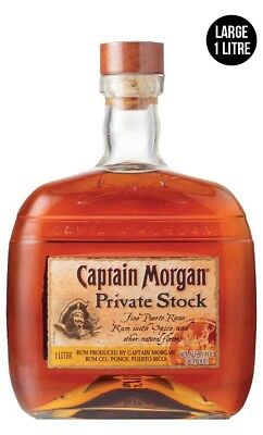 Captain Morgan Private Stock Rum 1 Litre